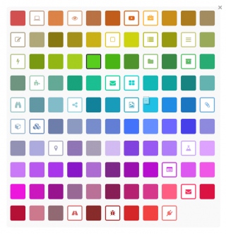 Add color to your card types